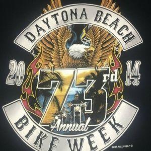 73rd Annual Bike Week Daytona Beach Florida Tshirt